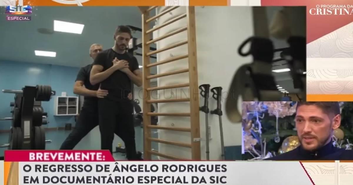 Photo of As primeiras imagens do reality show da recuperação de Ângelo Rodrigues