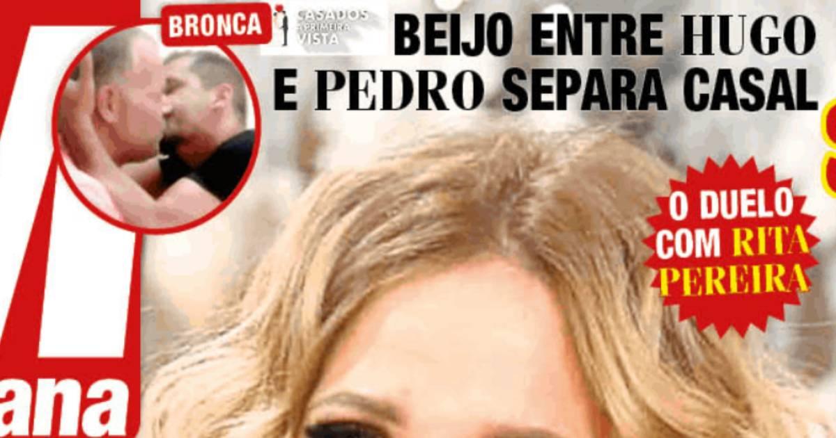 Photo of Beijo entre Hugo e Pedro do 'casados' SEPAROU casal