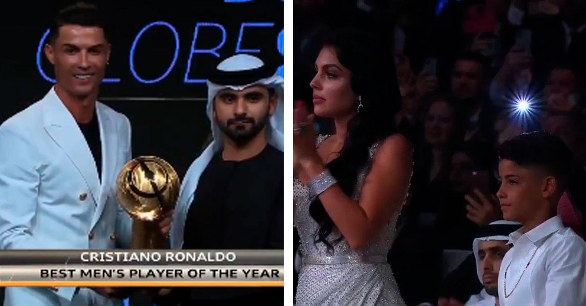 Photo of Cristiano Ronaldo eleito jogador do ano