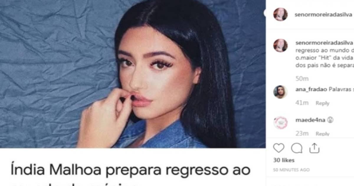 Photo of Ex-marido de Ana Malhoa manda bocas à filha nas redes sociais