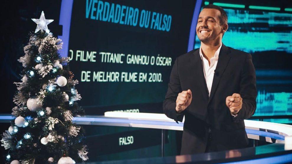 """Photo of Pedro Teixeira radiante com 'Mental Samurai'. Diz que foi de """"loucos"""""""