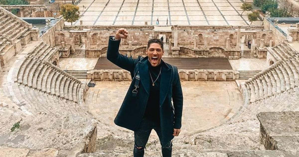 Photo of Ângelo Rodrigues faz primeira viagem internacional