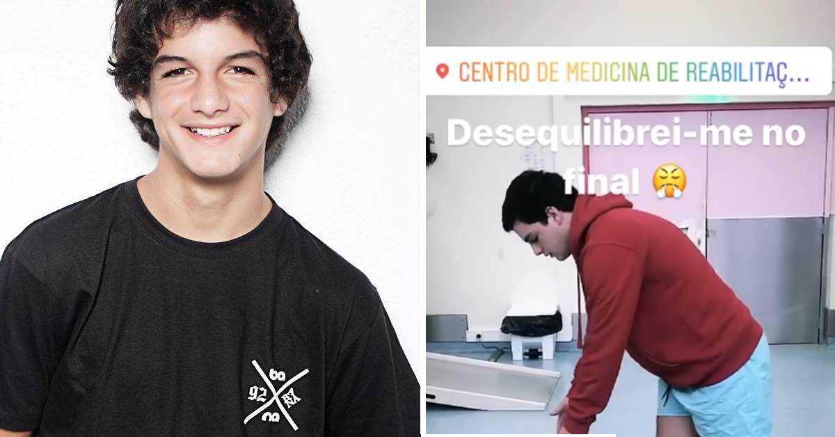 Photo of Após amputação, Diogo Carmona mostra vídeo da sua recuperação