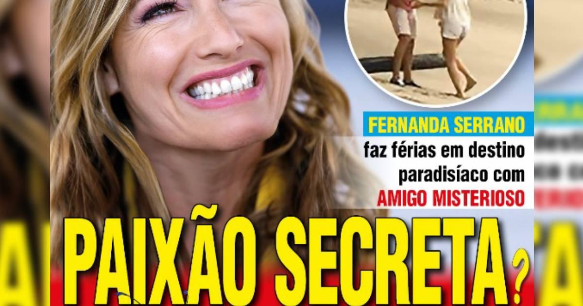 Photo of Fernanda Serrano TEM MESMO novo namorado. Cláudio Ramos CONFIRMA!