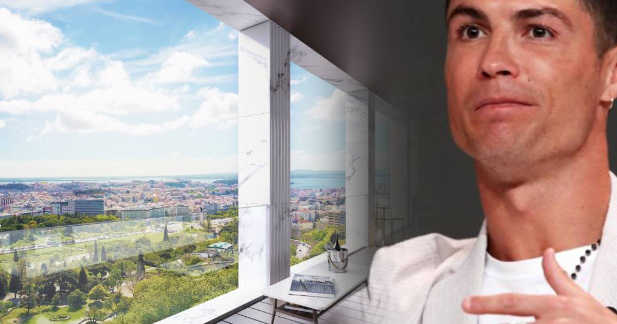 Photo of Cristiano Ronaldo comprou 'penthouse' mais cara de Portugal por transferência bancária