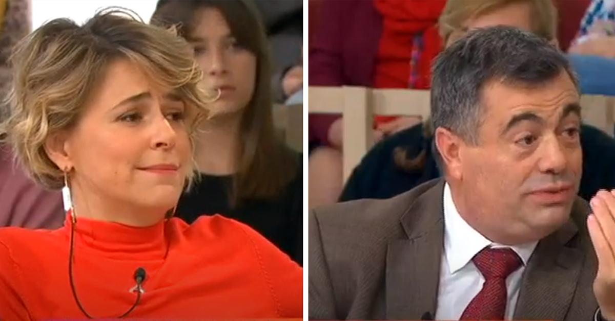 Photo of Leonor Poeiras e Quintino Aires PEGADOS no 'Você na TV'
