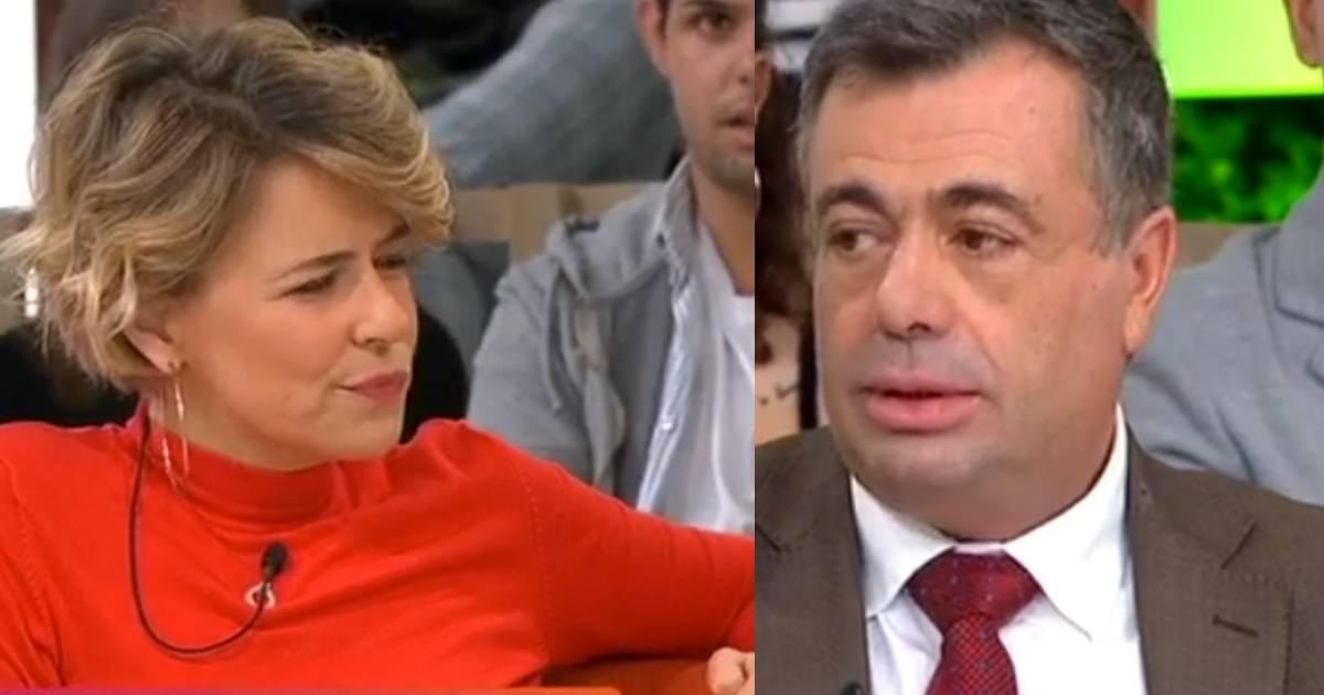 Photo of TVI. Os ânimos aquecem entre Leonor Poeiras e Quintino Aires