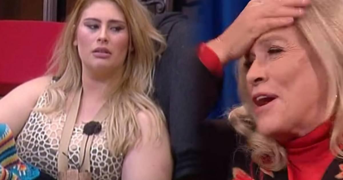 "Photo of Teresa Guilherme imita Bernardina: ""Mostra-me a tua xarooooca"""