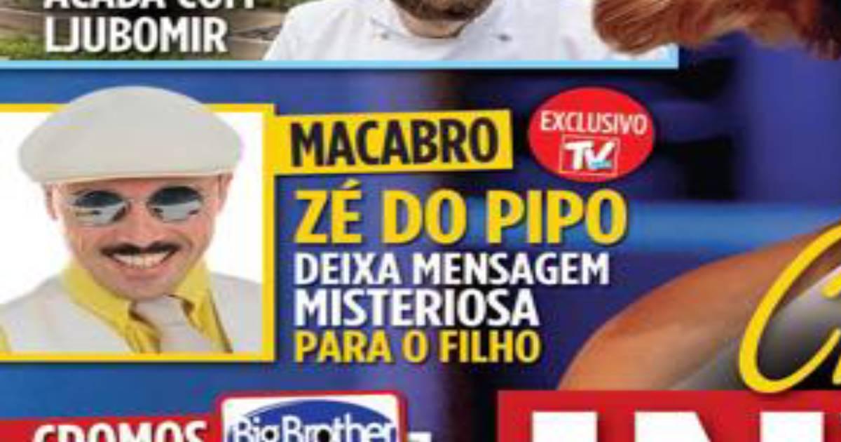 Photo of Zé do Pipo deixa mensagem misteriosa ao filho