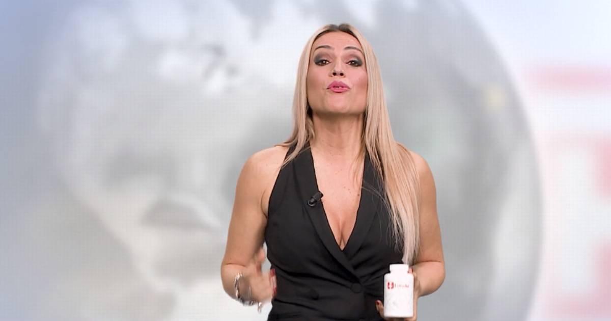 """Photo of Ana Águas do 'Casados' agora é vendedora de """"banha da cobra"""""""