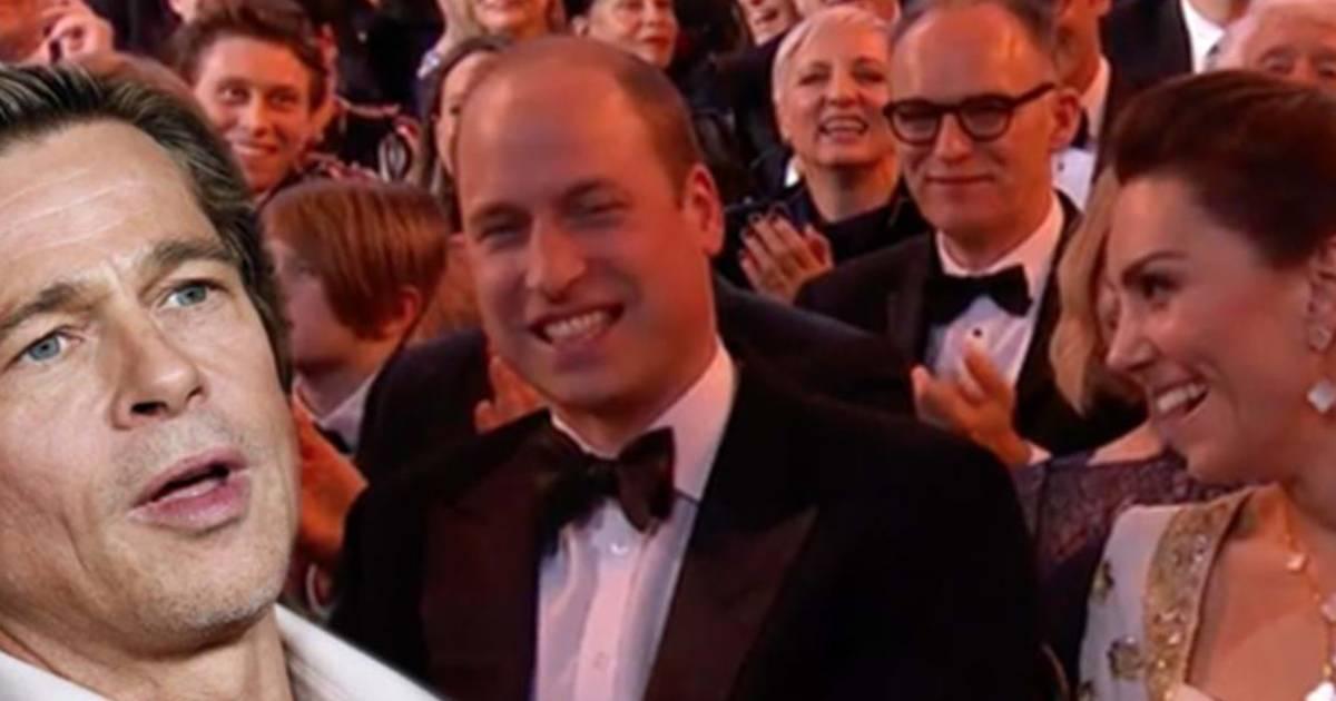 Photo of Brad Pitt faz discurso com piada com Harry! William e Kate ficam na AZIA