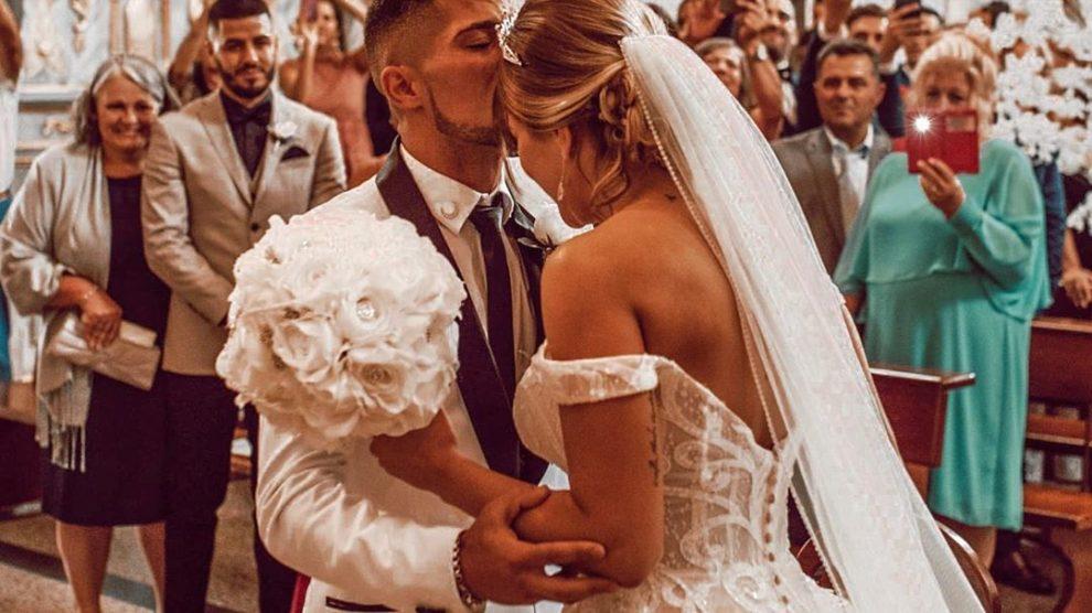 Photo of Cristiana Jesus e Cláudio Alegre partilham vídeo do casamento