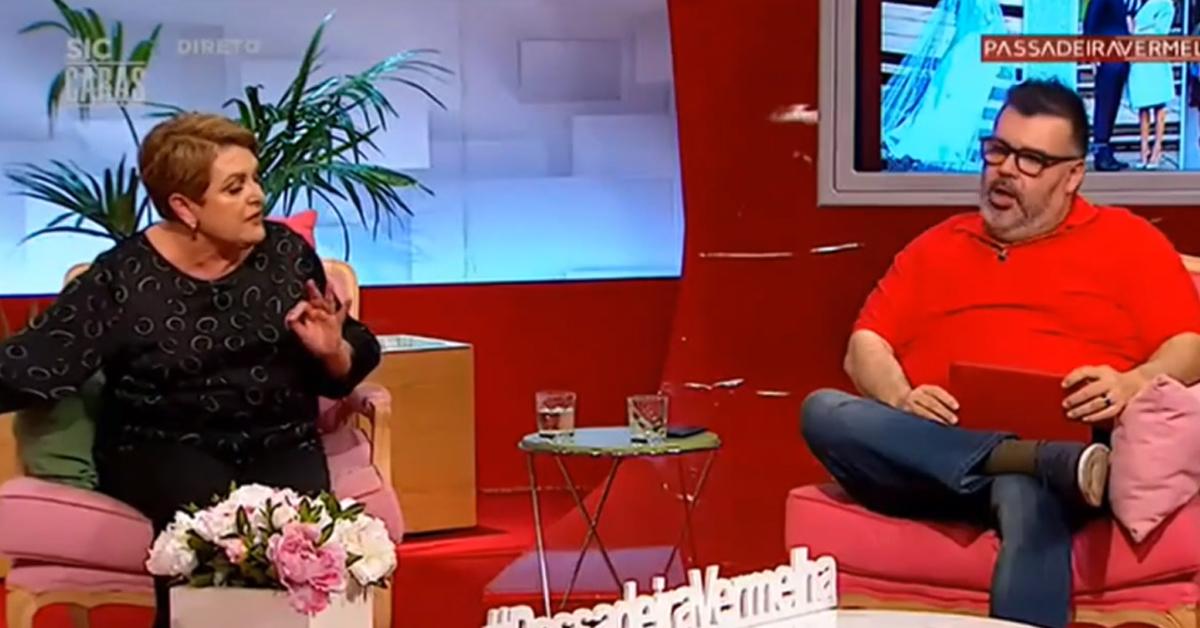 """Photo of Comentadores do «Passadeira Vermelha» CHATEIAM-SE em direto """"Acalma-te"""""""