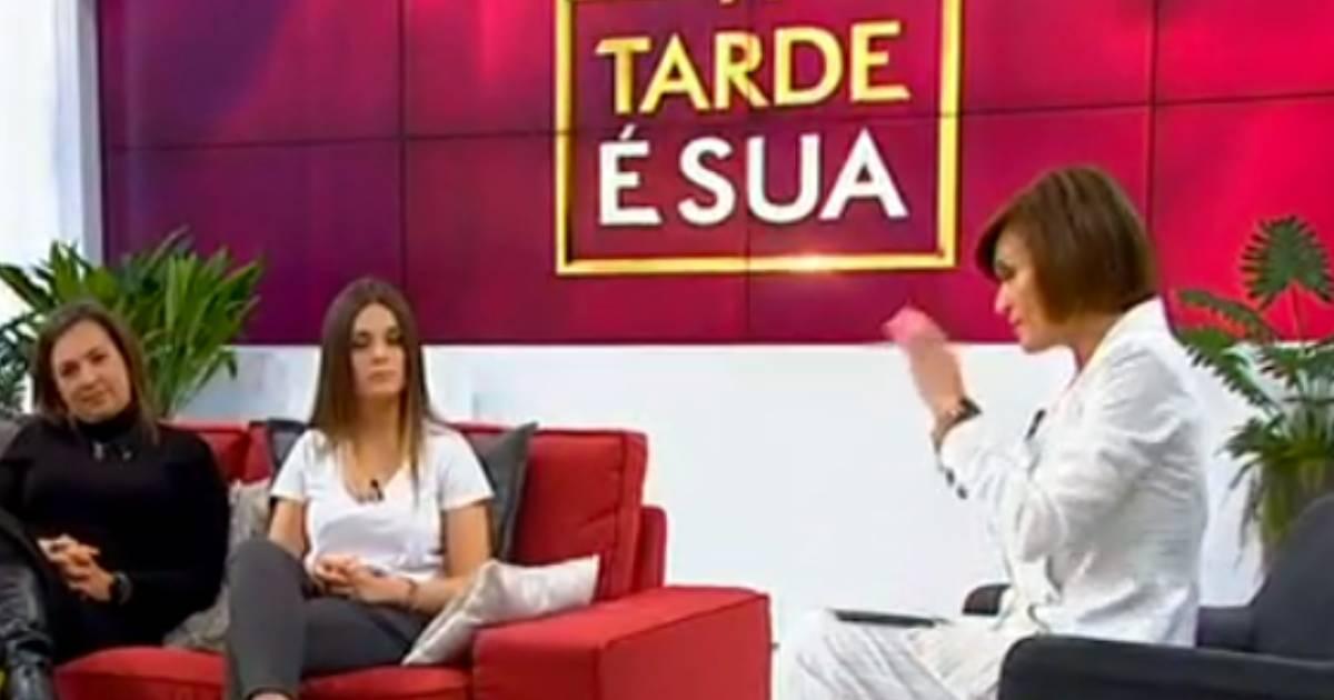 Photo of Fátima Lopes entrevistou pela primeira a filha Beatriz em televisão