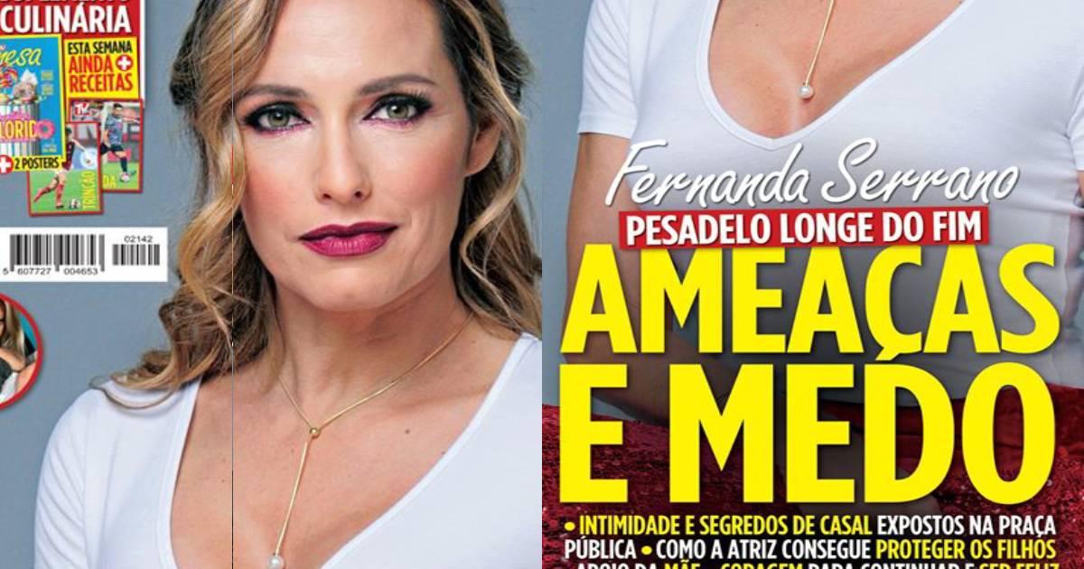 Photo of Fernanda Serrano. AMEAÇAS e medo