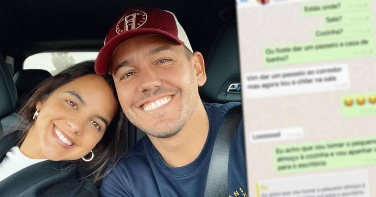 Photo of Conversa de Pedro Teixeira e Sara Matos vai parar à Internet.. culpa dele!