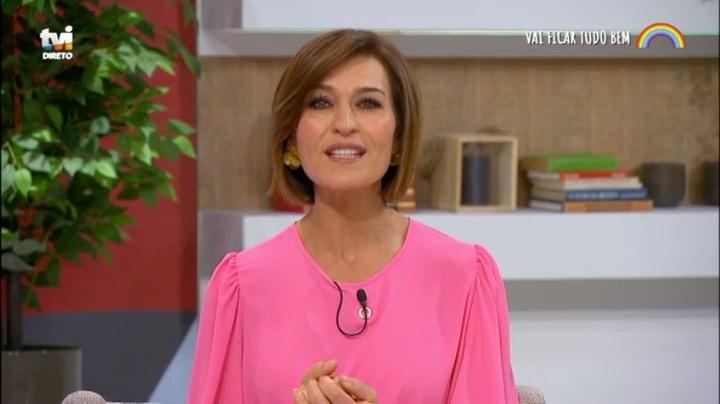 """Photo of Fátima Lopes diz a quem vai dar """"o primeiro abraço"""" após o Coronavírus e lança desafio"""