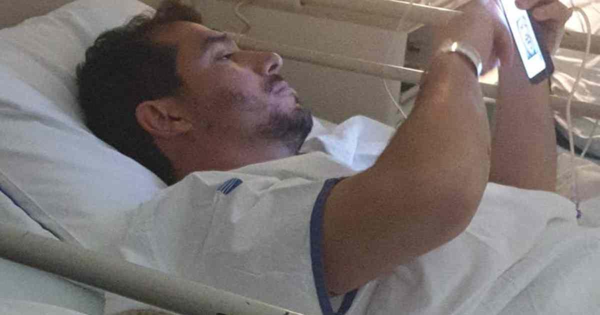 Photo of Pedro Pé-Curto do «casados» foi internado