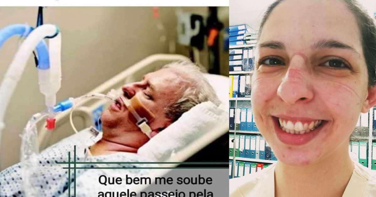 Photo of Suse Antunes. A enfermeira que emocionou os portugueses, estava no Programa da Cristina.. e tocou no coração