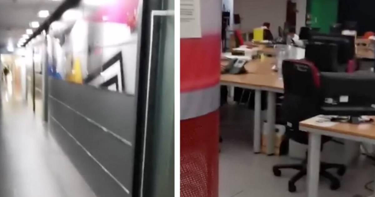 Photo of Como está o ambiente nos corredores da TVI