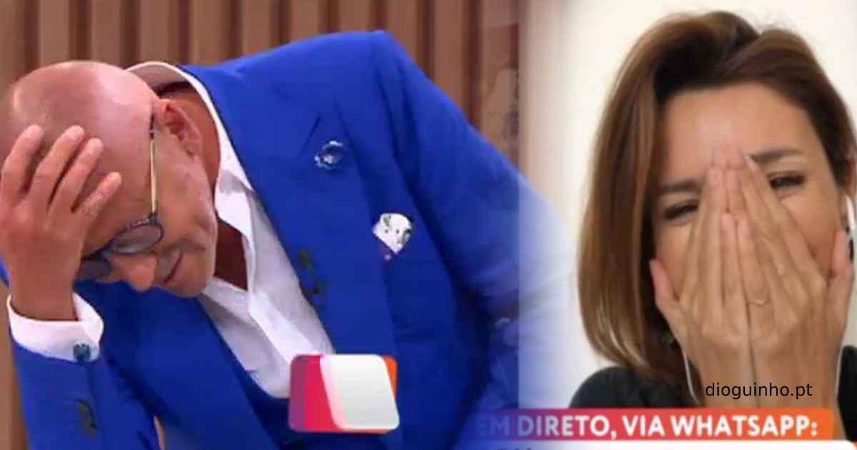 Photo of Problema técnico no 'Você na TV!' deixa Maria e Goucha atrapalhados