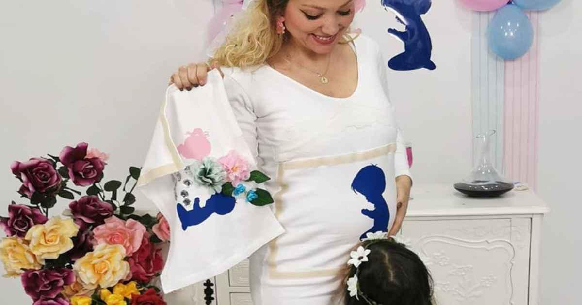Photo of Sandra Costa da «casa» fez hoje o chá revelação do segundo filho