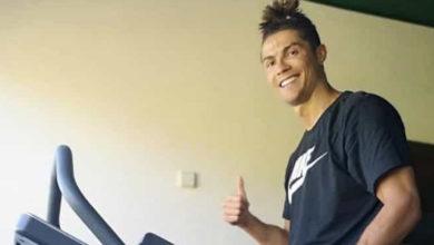 """Photo of Em quarentena, Cristiano Ronaldo aconselha """"Continuem fortes"""""""