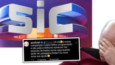 """Photo of SIC está a ser ARRASADA por lançar farpas à TVI """"muito baixo nível"""""""