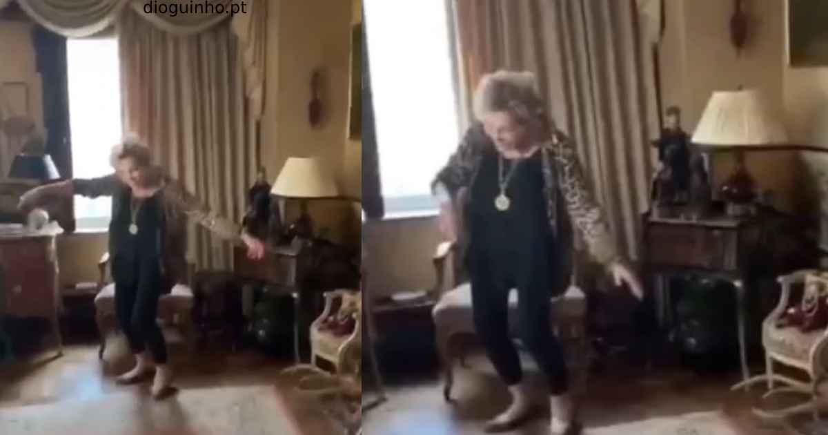 Photo of José Castelo Branco partilha novo vídeo de Betty Grafstein a dançar… e mal se mexe