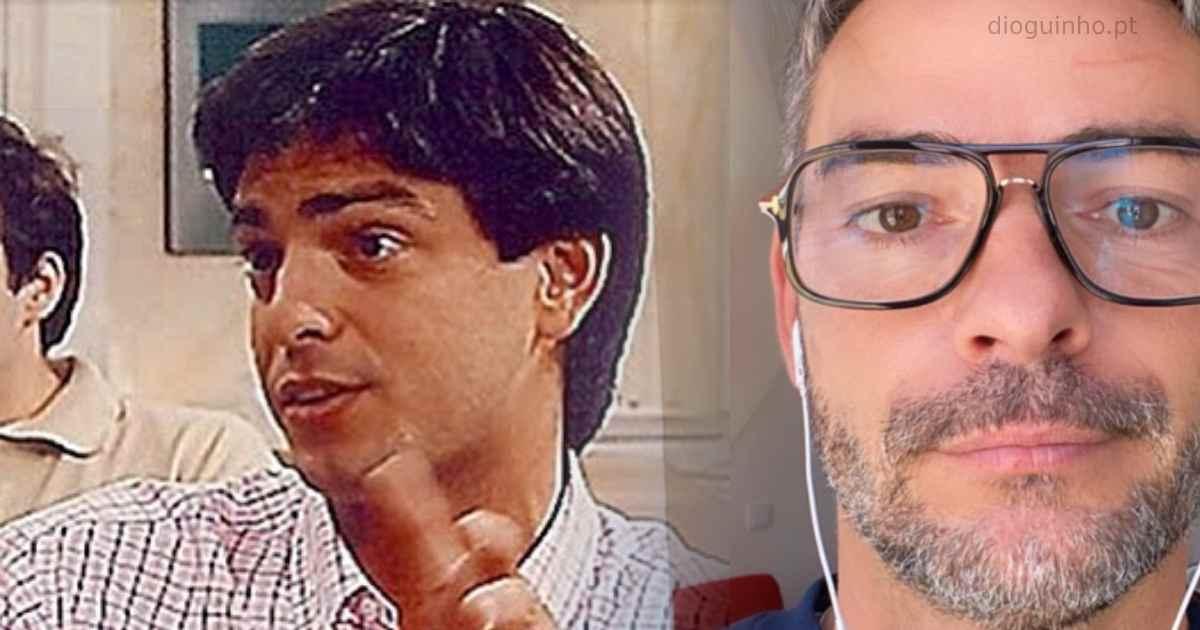 Photo of Cláudio Ramos mostra a primeira a entrevista há 20 anos