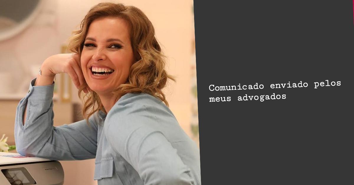 """Photo of Cristina Ferreira faz comunicado a negar plágio """"irei recorrer à via judicial"""""""
