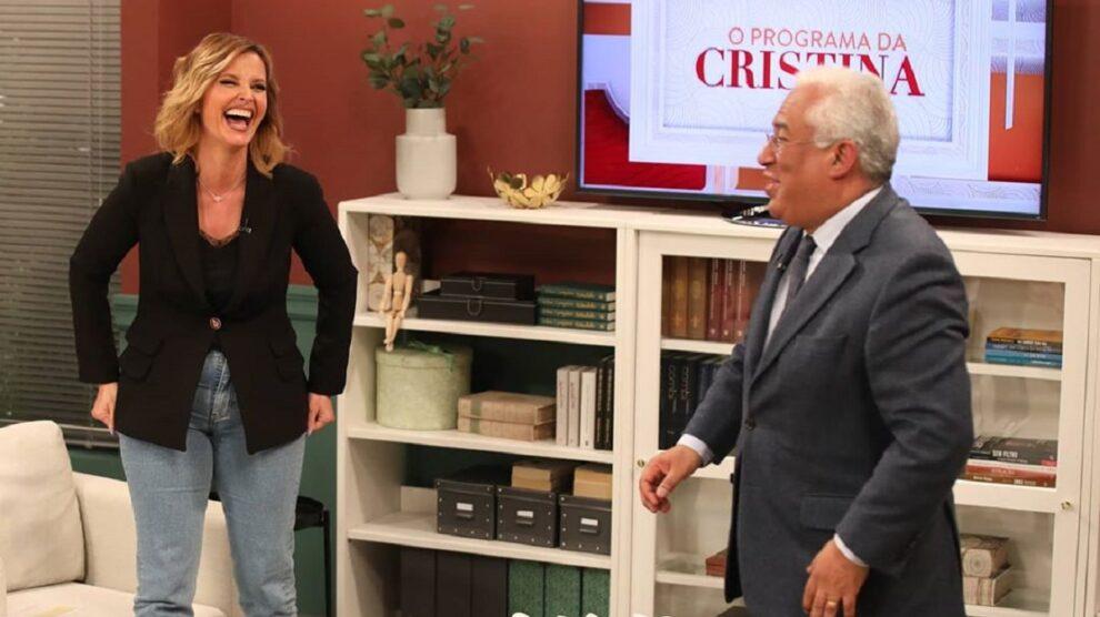 Photo of Cristina Ferreira partilha desabafo sobre a entrevista a António Costa