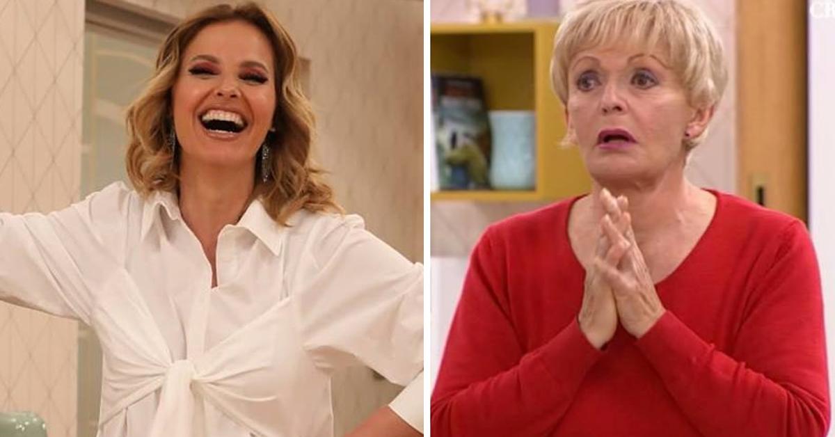 """Photo of Convidada de Cristina Ferreira diz palavrão em directo: """"Tou f***da com vocês"""""""