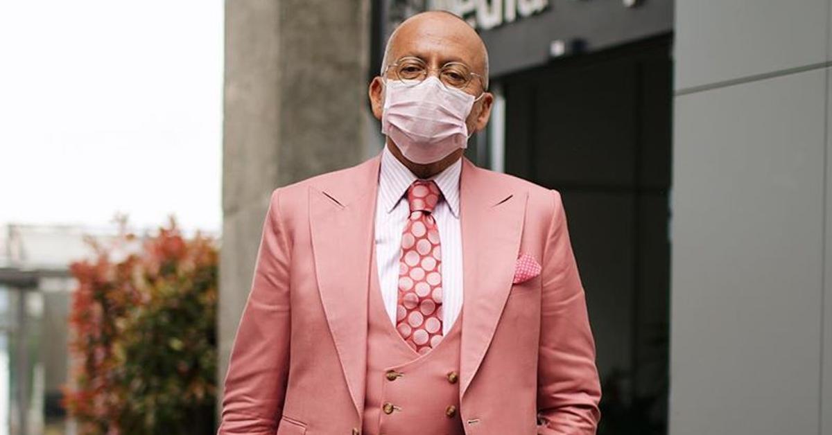 Photo of Goucha usa máscara a combinar com o fato e é criticado