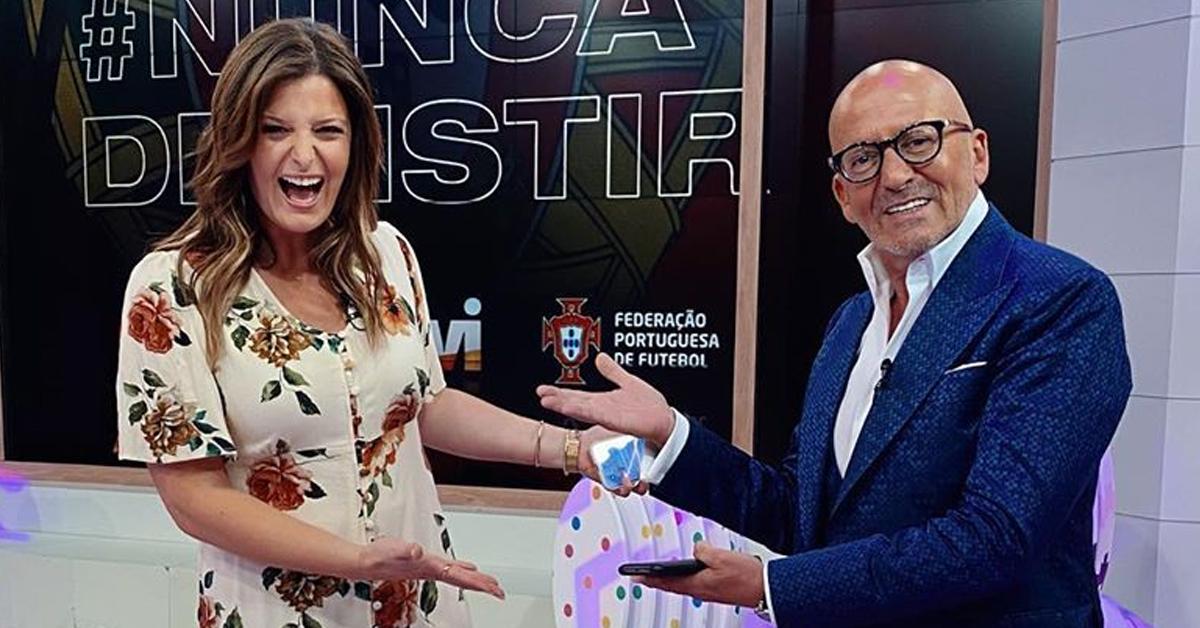 """Photo of Maria Botelho Moniz fala sobre a estreia ao lado de Goucha: """"Que orgulho!"""""""