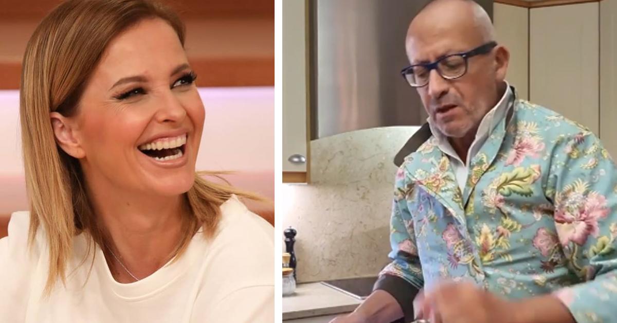 """Photo of Manuel Luís Goucha mostra-se a cozinhar. Cristina Ferreira reagiu """"és muito chique!"""""""