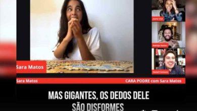 """Photo of Sara Matos faz revelação do namorado """"Tem umas mãos de Shrek"""""""