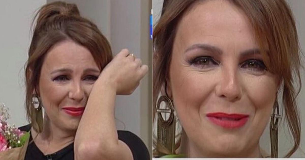 """Photo of Tânia Ribas de Oliveira chora em direto  """"Tenho os melhores do mundo…"""""""