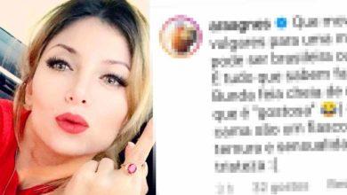 Photo of Agnes Arabela HUMILHA as mulheres Portuguesas e Brasileiras com comentário xenófobo