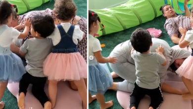 Photo of Filhos salvam Georgina Rodriguez de Cristiano Ronaldo