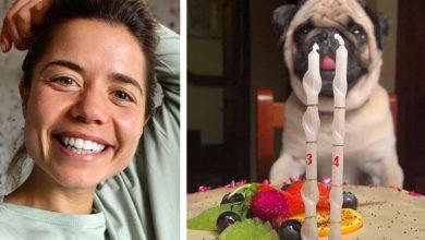 """Photo of Em dia de anos, Isabel Silva mostra bolo de aniversário """"diferente"""""""
