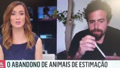 """Photo of João Manzarra aceita o desafio e disse """"sémen"""" em direto na SIC Notícias"""