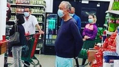 Photo of É desta forma que Marcelo Rebelo de Sousa vai às compras