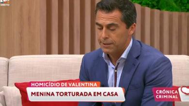 Photo of Jornalista da TVI emociona-se em direto a falar do 'caso Valentina'