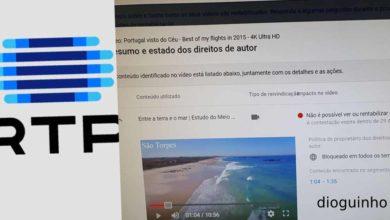 Photo of RTP apropriou-se indevidamente de direitos sobre os vídeos de autor português no YouTube