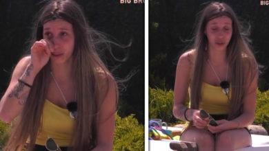 Photo of Após Ana Catharina, foi a vez de Sónia ter um ataque de choro