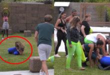 """Photo of Angélica aleijou-se durante exercício. Sónia parte-se a rir e Jéssica """"os putos magoam-se"""""""