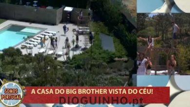 Photo of Cláudio Ramos sobrevoa a casa do Big Brother de helicóptero