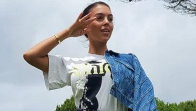 Photo of Georgina Rodríguez mostra-se junto da futura mansão de Cristiano Ronaldo em Cascais?