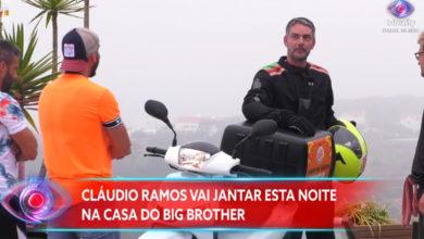 Photo of Cláudio Ramos entrou na casa disfarçado… vai passar a noite com os concorrentes